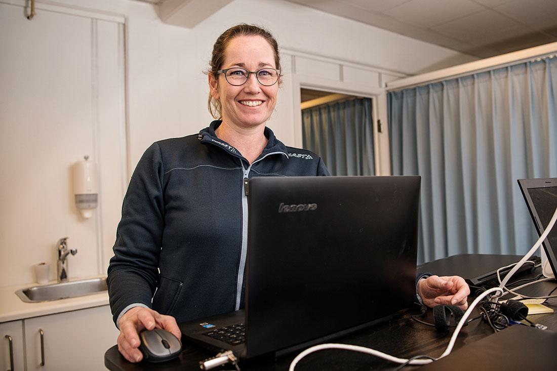 Fysioterapeut Gitte Merete Axelsen