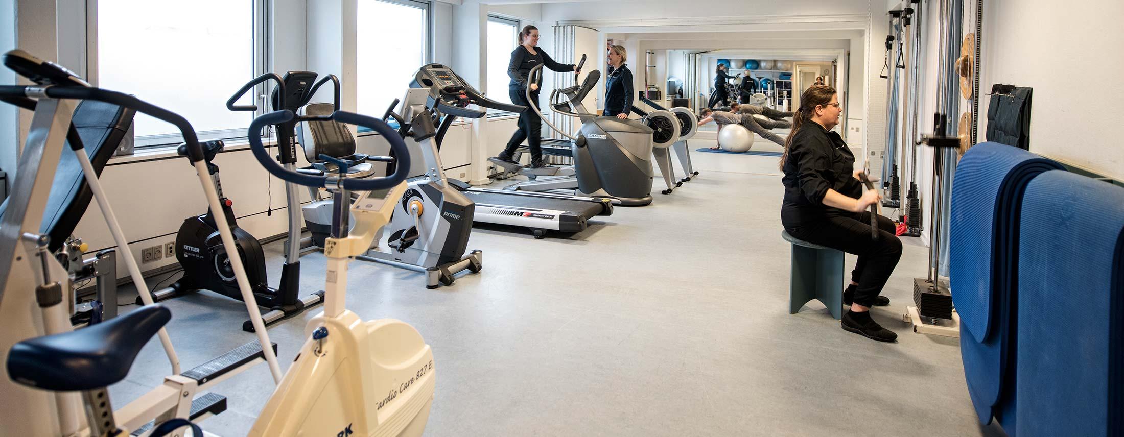 Træning og genoptræning hos fysioterapeut