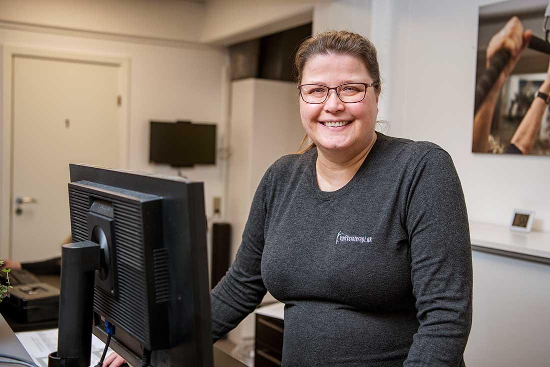 Ghita Margrethe, sekretær, Viby Fysioterapi